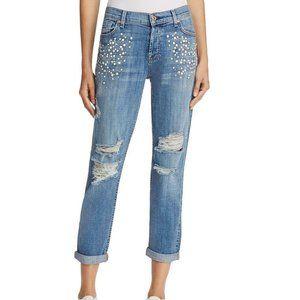 7 For All Mankind Josefina Boyfriend Jeans. 29